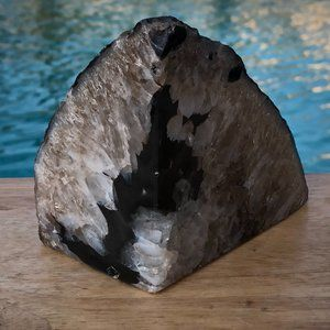 "Other - Solid Geode Crystal Collectable Rock (4"" height)"